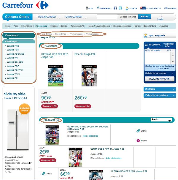 Elementos b sicos de una tienda virtual marketing for Que es una pagina virtual