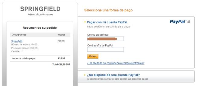 Pago PayPal Rafaelopez Fdez
